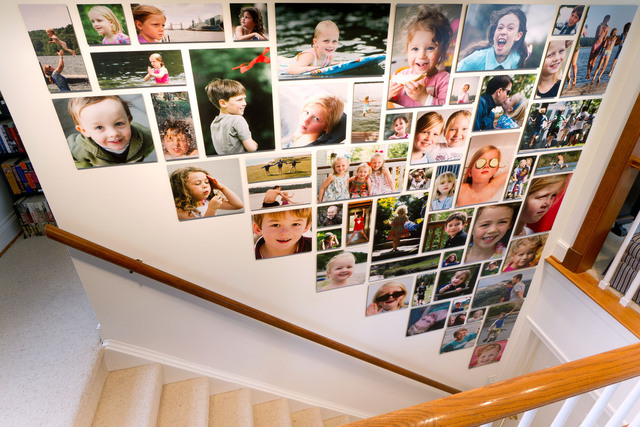 Collagewall_stairway_display_photography_by_matthew_yeo
